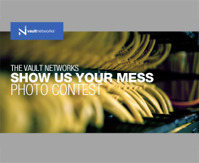 Send us a pic of your messy IT and win $300!